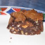 Brownies au chocolat blanc