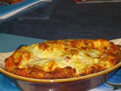 Clafoutis à la mozzarella
