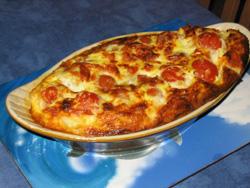 Clafoutis tomates mozarella