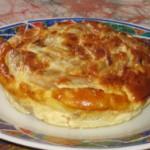 Flan au poulet et aux pointes d'asperge