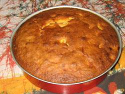 Gâteau au yaourt aux fruits
