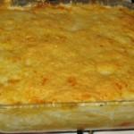 Gratin poulet mozzarella
