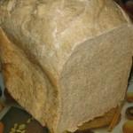 Pain complet à la farine bise MAP