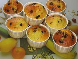Muffins chocolat orange