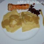 Ravioles aux langoustines