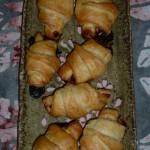 Croissants chèvre/miel