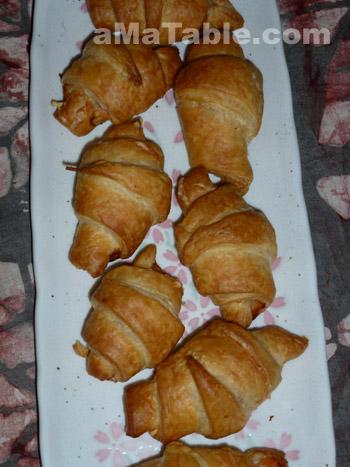 Croissants Saumon/Fromage