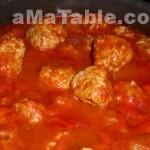 Boulettes de porc à la tomate