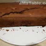 Cake au chocolat et à la poire